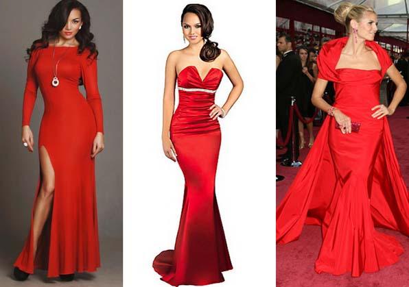Длинное красное платье в пол- это наряд не на каждый день. Красное платье в пол с открытой спиной и вы королева бала